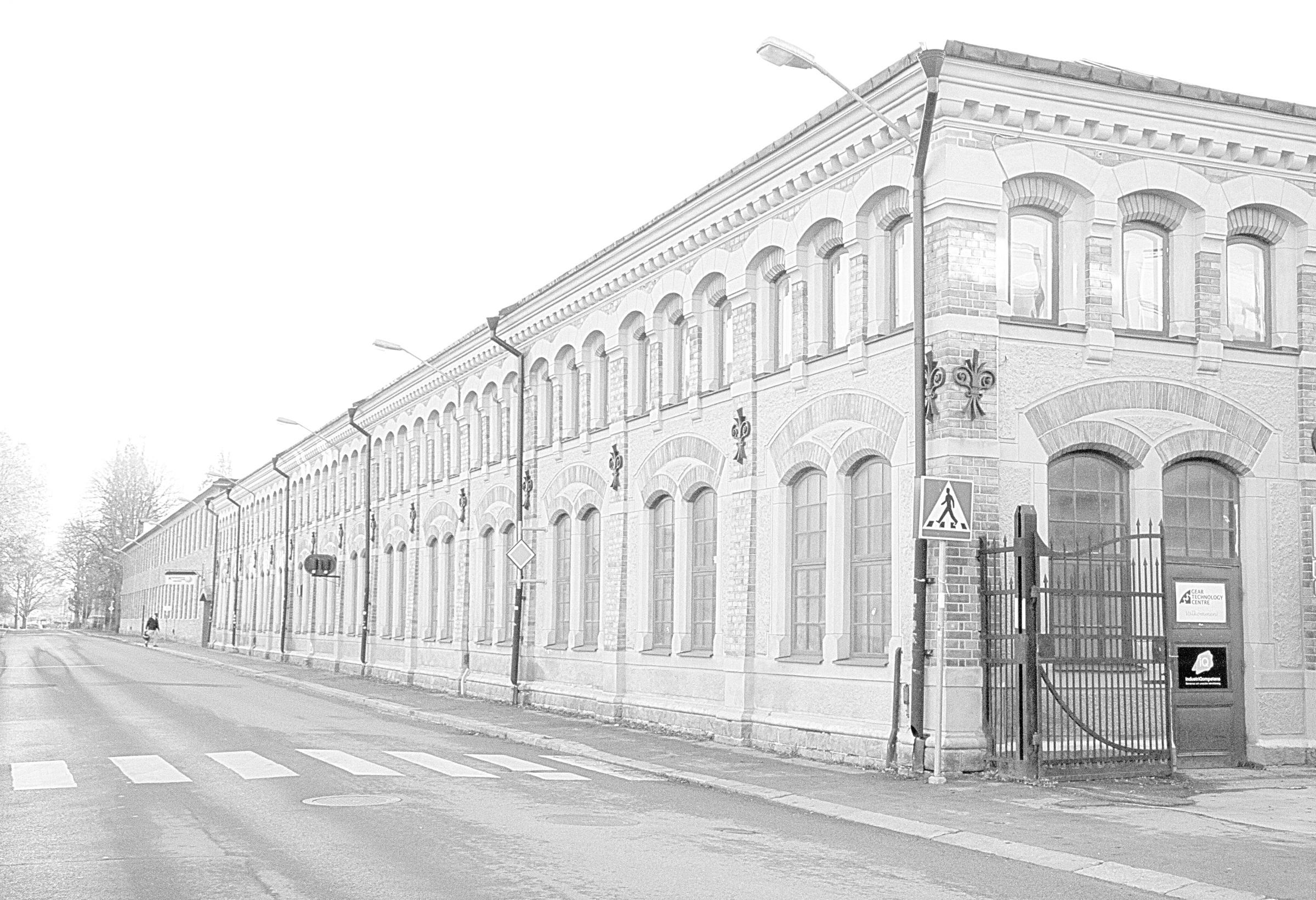 Bild av huset där lokalen för GTC ligger